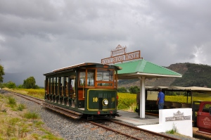 The Wine Tram.  All aboard!  Toot! Toot!