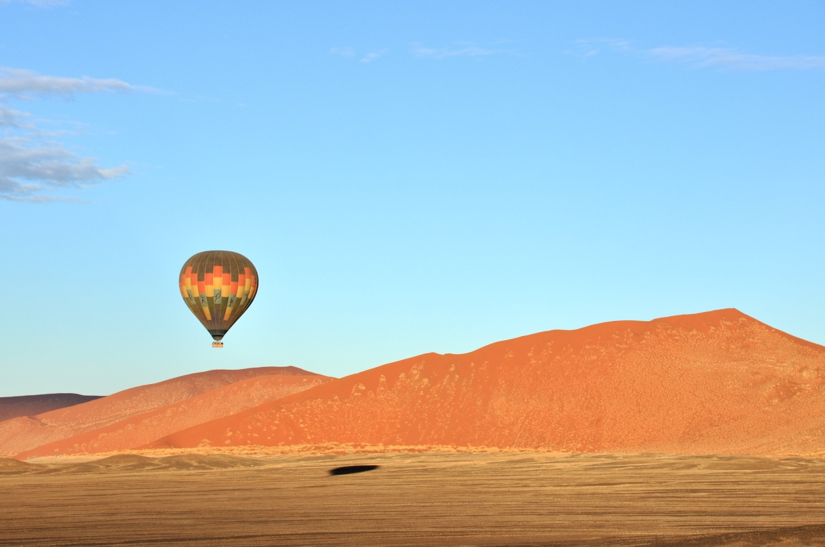 Full of Hot Air in Namibia...
