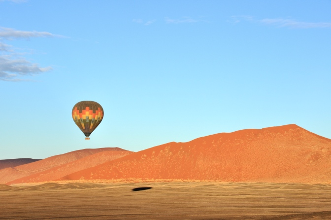 Full of Hot Air in Namibia…