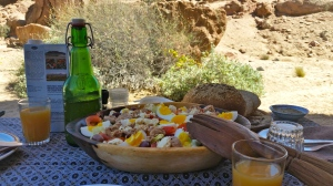 Lunch in the Namib Desert