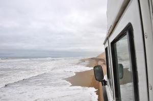 Namibia dunes tides