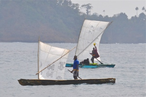 Sao Tome fisherman