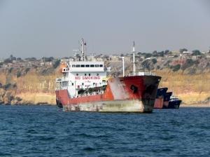 Luanda harbor