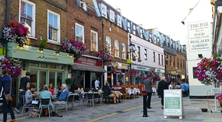 Twickenham Church Street The Fox Pub
