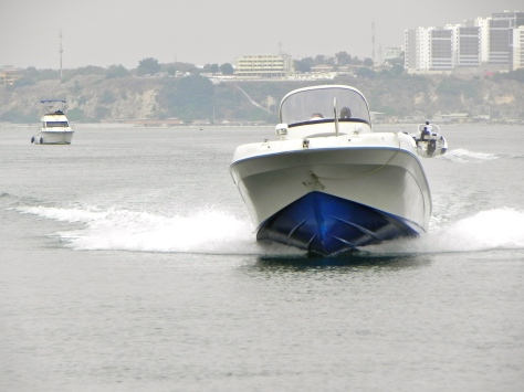 Boating in Luanda