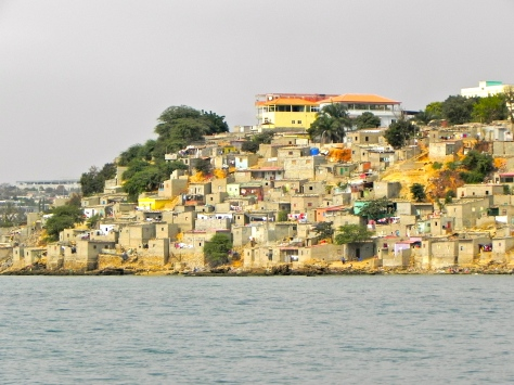 Luanda shanty town